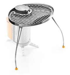 Biolite grill unfolded