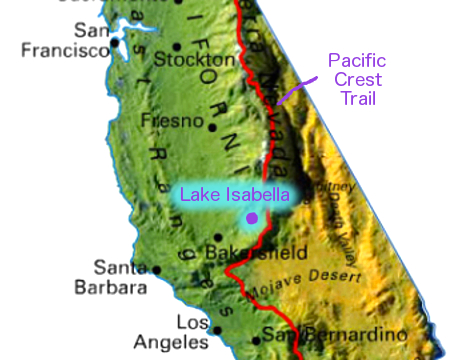 Lake Isabella Map